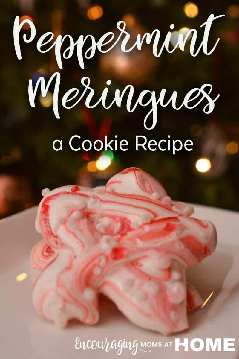 Peppermint Meringue Cookies Recipe picture - Easy Peppermint Meringues Cookie Recipe