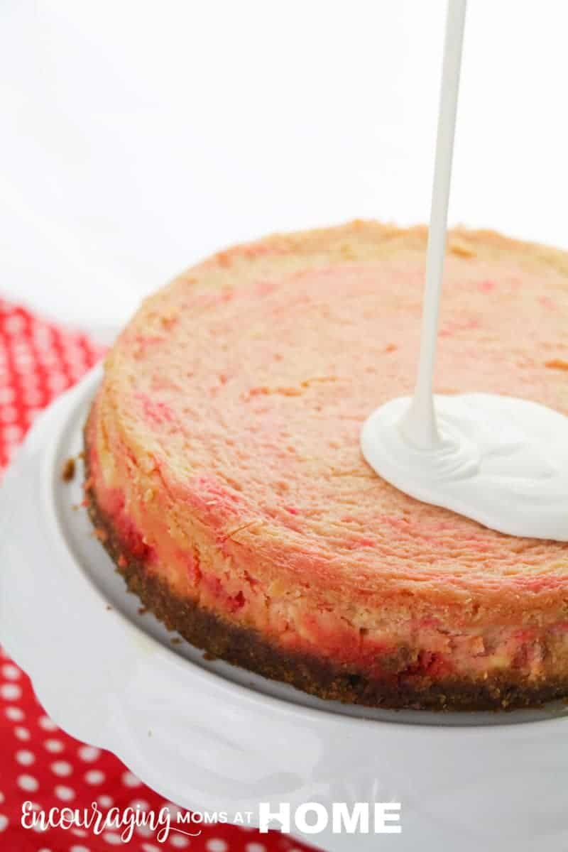 Instant Pot Red Hots Cheesecake