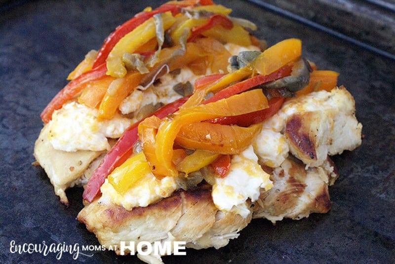 Trim Healthy Mama Fajita Chicken