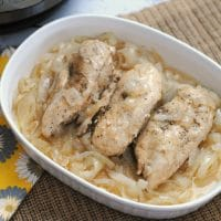 Whole 30 French Onion Chicken for the Instant Pot