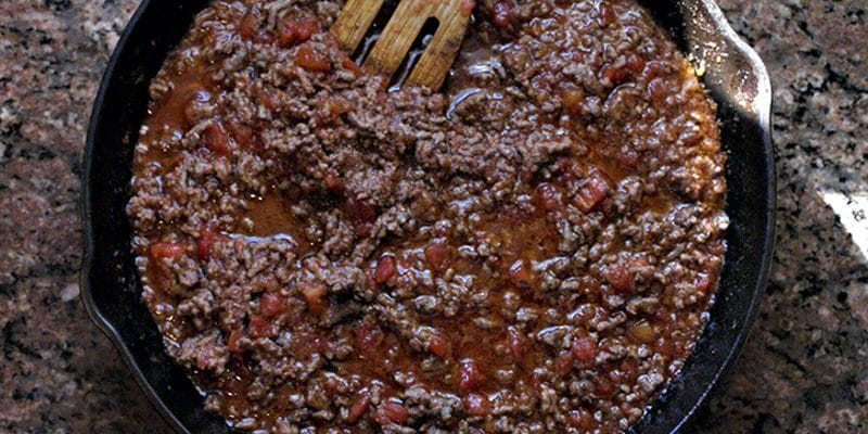 Trim Healthy Mama Chili Recipe with Crossover, S or E Meal Options