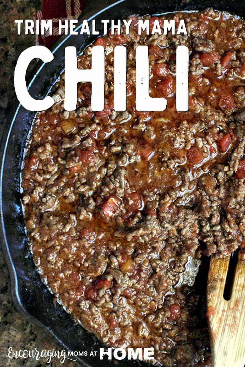 Looking for a Trim Healthy Mama meal that can easily be an S or an E? This Chili recipe can be either OR it could be a Crossover meal. #thm #recipe