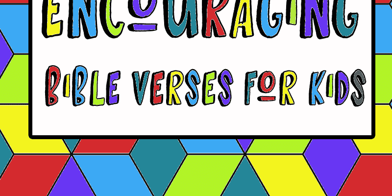 Color and Memorize: Encouraging Bible Verses for Kids