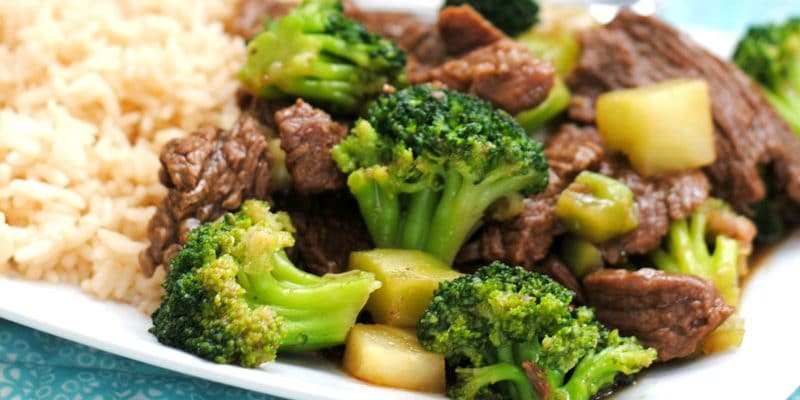 Better than Takeout! Instant Pot Beef and Broccoli  – fits KETO diet