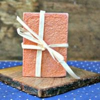 Homemade Natural Soaps Kids can Make for Dad