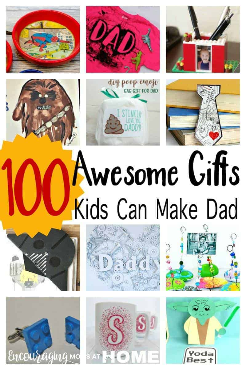100 Homemade Father S Day Gifts For Kids To Make