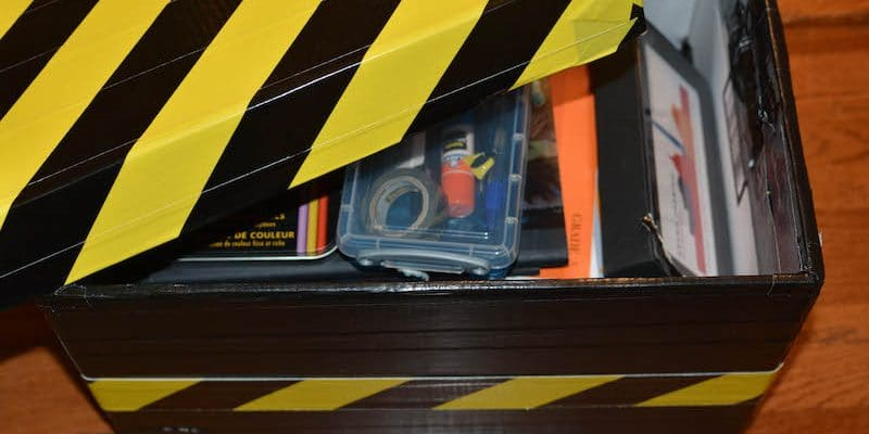 Make The Perfect School Box Using Duct Tape
