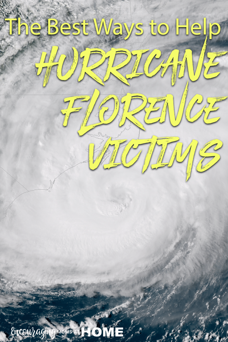 The best ways to help Hurricane Florence victims. If you are thinking about helping - we talked to people who've survived hurricanes in the past and we are gathering the answers here. #hurricaneflorence #florence #hurricane