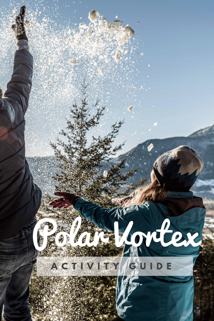 What can you do with your kids during a polar vortex? Turns out we found some pretty cool kids activities to do when its really, really cold! Time to play.
